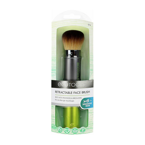 Eco Tools Retractable Face Brush - Best Used with Powders and Bronzers