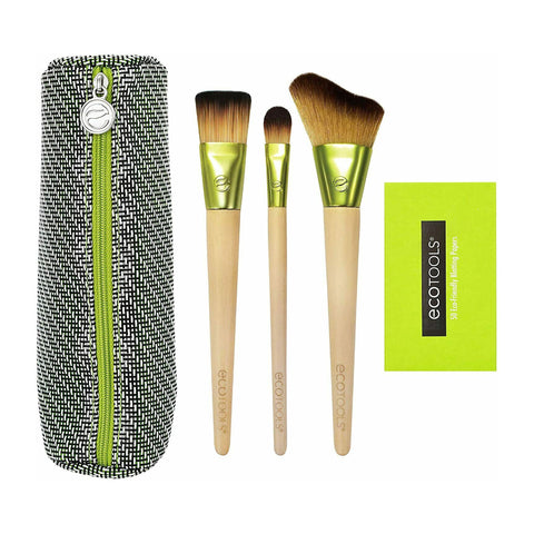 Eco Tools Travel and Glow Everyday Must Have Make-Up Brush Set