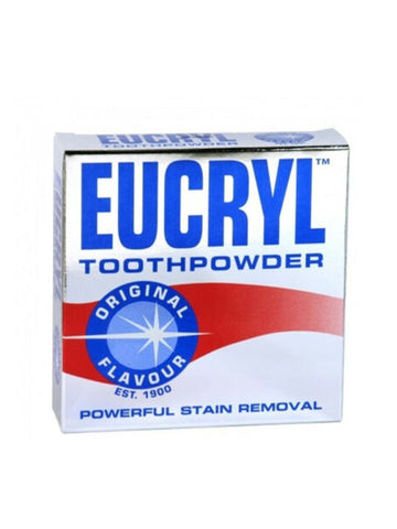 Eucryl Original Flavour Tooth Powder - Powerful Stain Removal
