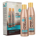 Kativa Hair Straightening Post Treatment Set with Shampoo 250ml Conditioner 250ml