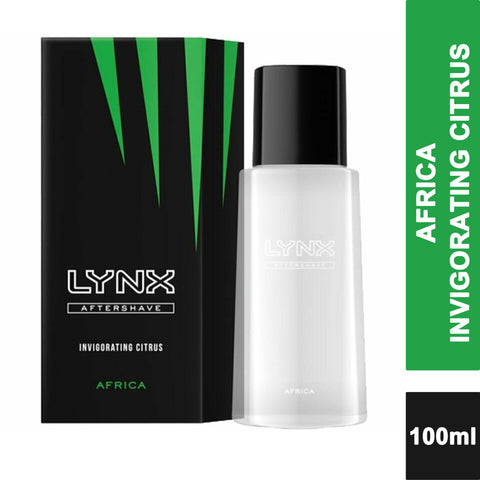 Lynx Africa Aftershave Invigorating Citrus 100ml