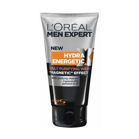 L'Oreal Men Expert Hydra Energetic Black Charcoal Wash 150ml
