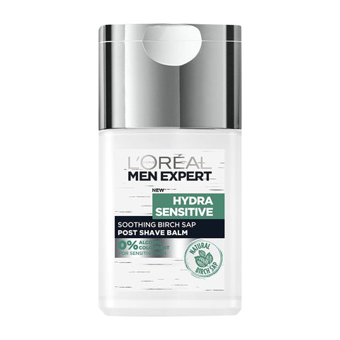 L'Oreal Men Expert Hydra Sensitive Soothing Birch SAP Post Shave Balm 125ml