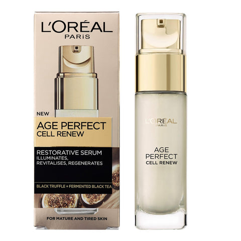 L'Oreal Paris Age Perfect CELL RENEW Restorative SERUM 30ml