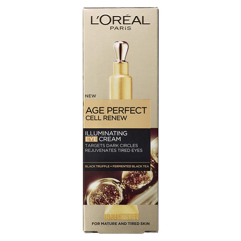 L'Oreal Paris Age Perfect CELL RENEW Illuminating EYE Cream 15ml