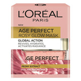 L'Oreal Paris Age Perfect Rosy Glow Mask with Peony Extract 50ml (German Pack)