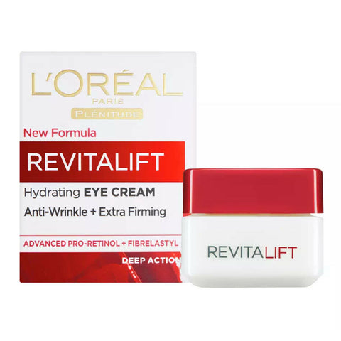 L'Oreal Paris Revitalift Hydrating Eye Cream Pro Retinol Anti-Wrinkle Extra Firming 15ml