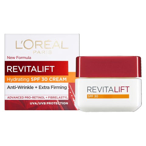 L'Oreal Paris Revitalift Hydrating SPF 30 DAY Cream with Pro-Retinol - 50ml