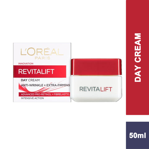 L'Oreal Paris Revitalift Pro Retinol Anti-Wrinkle + Firming Day Cream 50ml