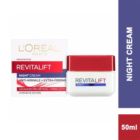 L'Oreal Paris Revitalift Pro Retinol Anti-Wrinkle + Firming Night Cream 50ml