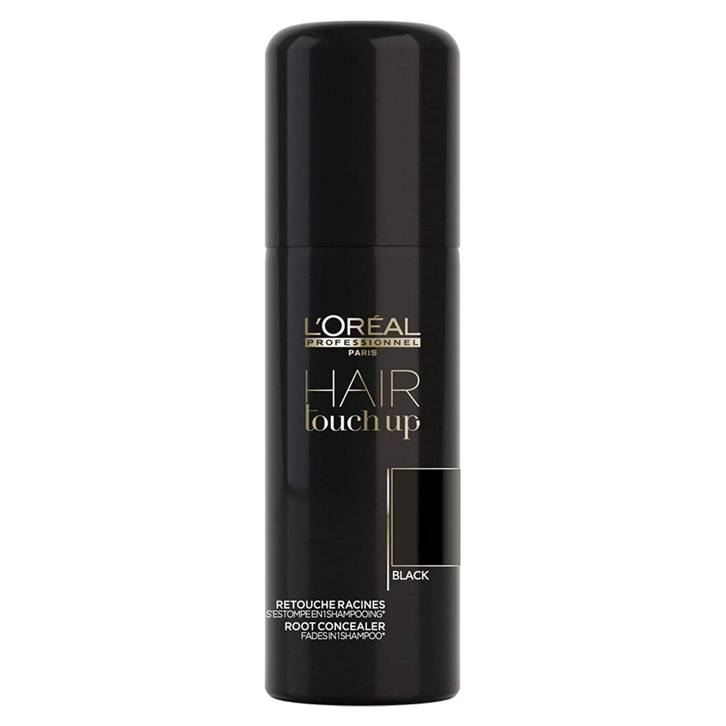 L'Oreal Professionnel Hair Touch Up To Blend Grey Hair 75ml (BLACK)