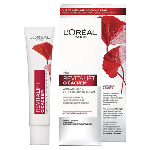 L'Oreal Paris Revitalift Centella Repair Anti-Wrinkle Cica Cream 40 ml