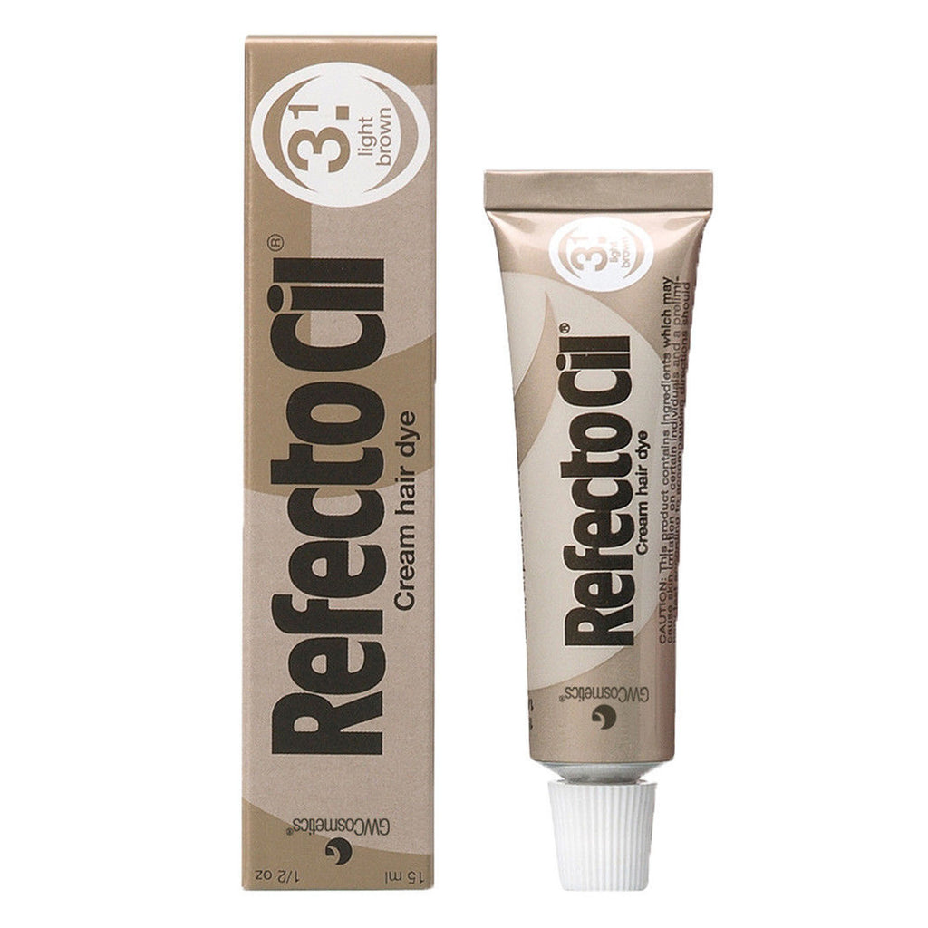 RefectoCil Eyelash and Eyebrow Tint - 3.1 Light Brown
