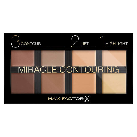 Max Factor 3-2-1 Miracle Contouring Palette 30g - Contour, Lift & Highlighter