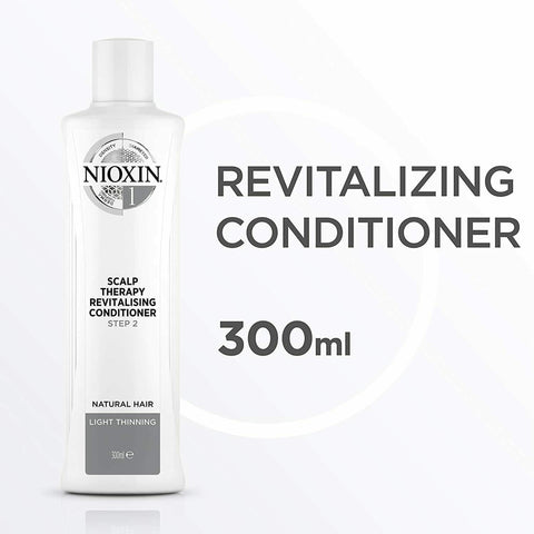 Nioxin System 1 Step 2 Scalp Therapy Revitalizing Conditioner 300ml