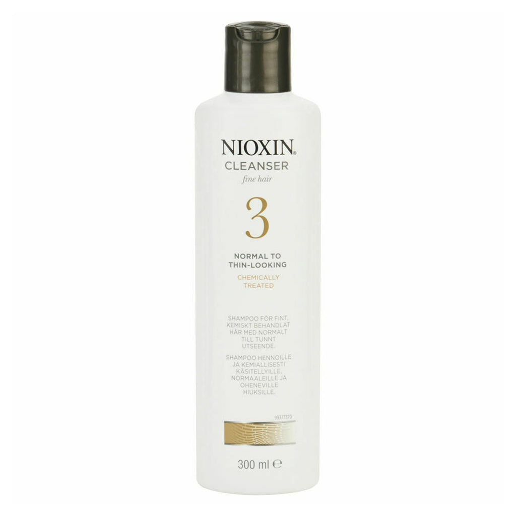 Nioxin System 3 Cleanser Fine Hair for Normal to Thin Coloured Hair 300ml