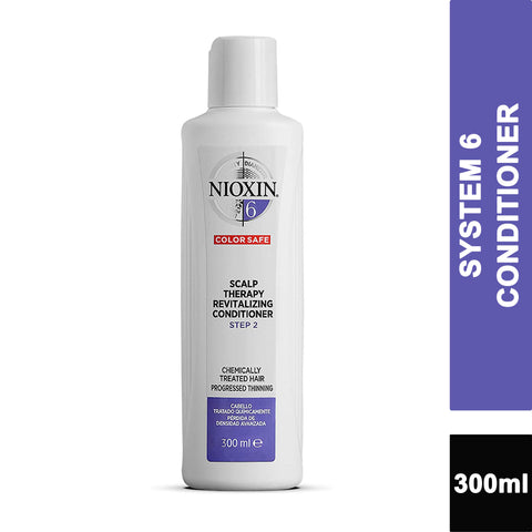 Nioxin System 6 Progressed Thinning Scalp Therapy Revitalizing CONDITIONER 300ml