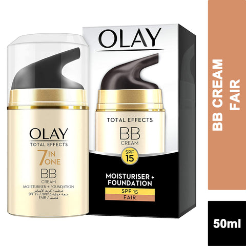 Olay Total Effects Anti-Ageing BB Cream Moisturiser + Foundation SPF 15 - FAIR