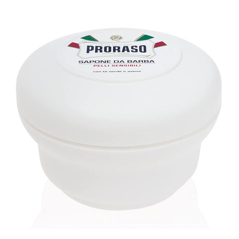 Proraso White Sensitive Shaving Soap in a Bowl 150ml