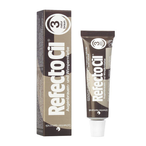RefectoCil Eyelash and Eyebrow Tint - 3 Natural Brown