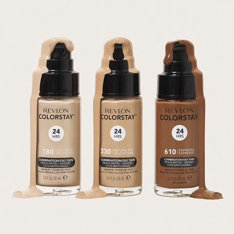 Revlon ColorStay 24 Hours Makeup Foundation with Pump 30ml (VARIOUS SHADES)