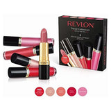 Revlon Super Lustrous 4 x Lip Gloss and 1 x Lipstick Gift Set