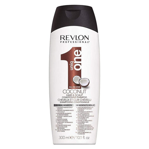 Revlon Uniq One Hair & Scalp Conditioning COCONUT Shampoo 300ml