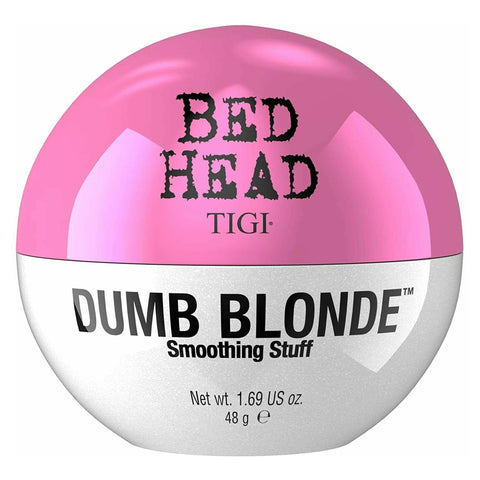 TIGI Bed Head Dumb Blonde SMOOTHING STUFF Cream for Shiny Frizz Free Hair 48g