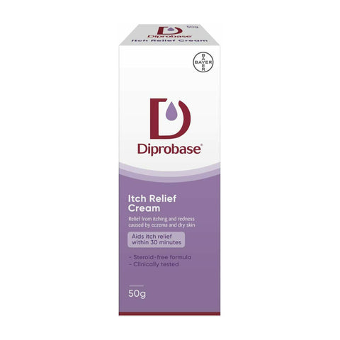 Diprobase Cream Relief from Redness and itching - Steroid Free 50g