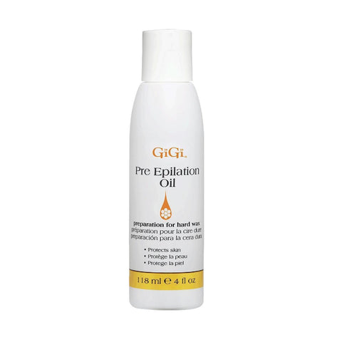 GiGi Pre Epilation Oil Protects Skin For Hard Wax 118ml