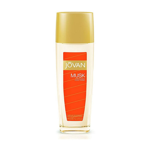 Jovan Musk For Women Body Fragrance Natural Spray 75ml (Unboxed)