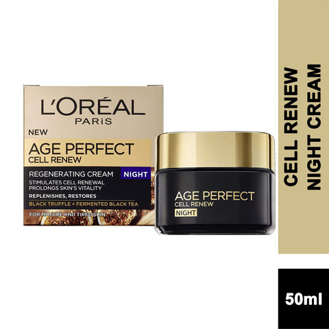 L'Oreal Age Perfect CELL RENEW Regenerating NIGHT Cream 50ml