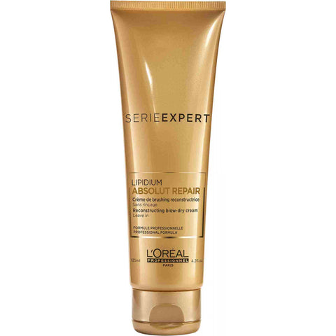L'Oreal Serie Expert Absolut Repair Reconstructing Blow Dry Cream 125ml