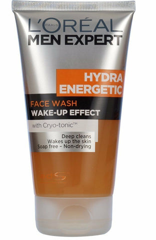 L'Oreal Men Expert Hydra Energetic Cleansing Gel Face Wash 150ml