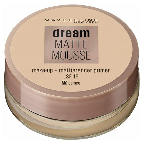 Maybelline Dream Matte Mousse Mattifying Foundation + Primer (VARIOUS SHADES)