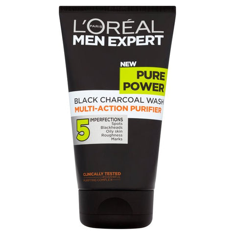 L'Oreal Men Expert Pure Power Black Charcoal Wash 150ml