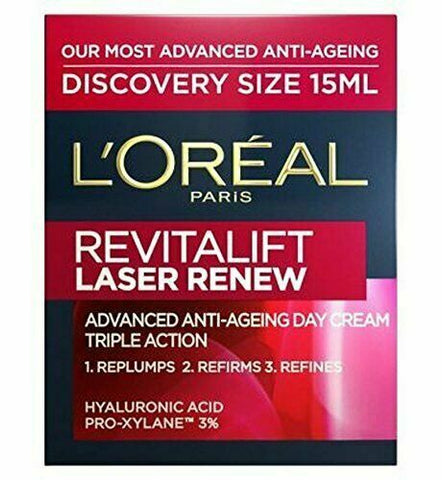 2 PACK L'Oreal Revitalift Laser Renew Anti-Ageing Day - 15ml