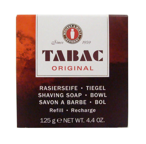 Tabac Original Shaving Soap Bowl & Refill 125g