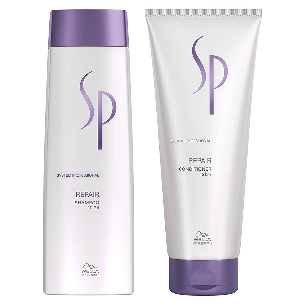 Wella SP Professionals REPAIR for Damaged Hair Shampoo Conditioner