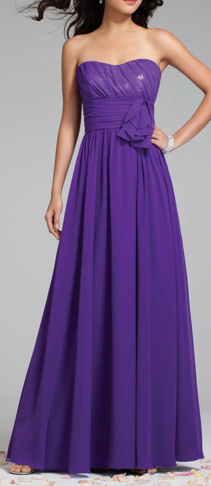 Custom-made Bridesmaid Dress 99045AA7242