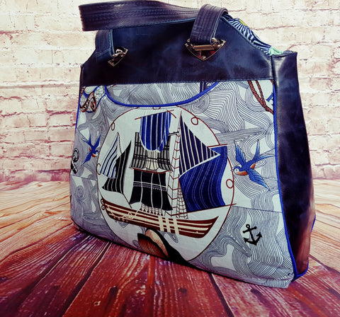 Rounds and Stitches - Stargazer Tote