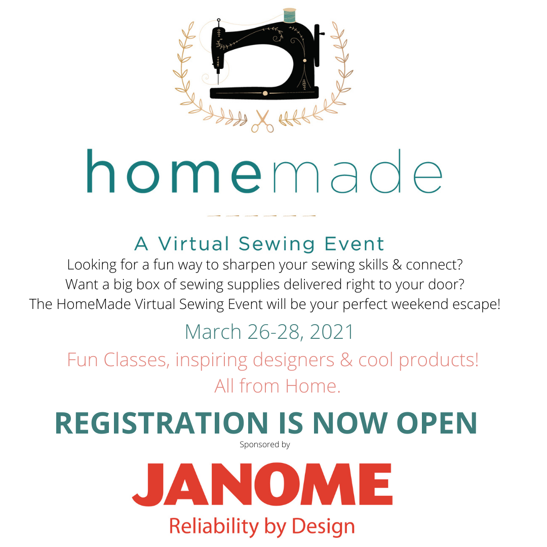 The HOMEMADE Virtual Sewing Event