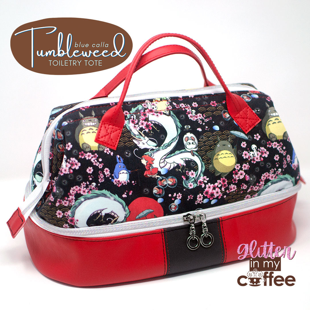 """The Tumbleweed Tote by Lisa Thibault of """"Glitter in my coffee"""""""