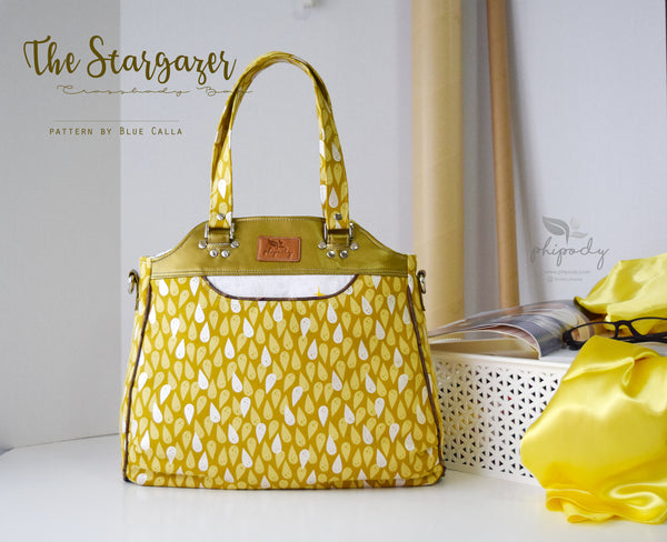 The Stargazer Tote - PDF Sewing pattern