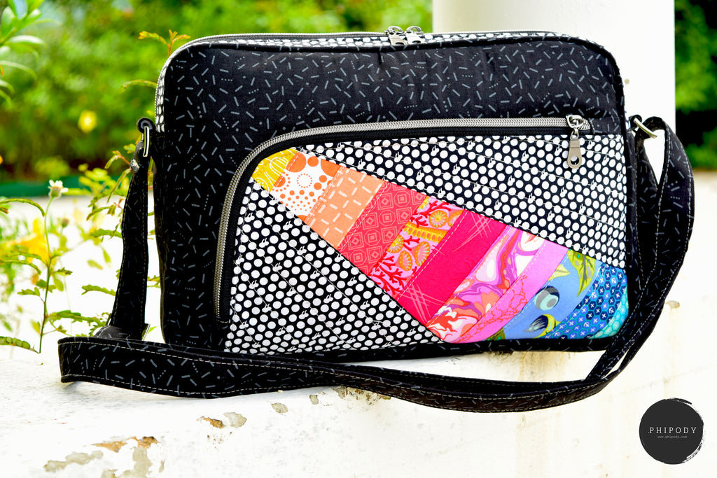 The Celosia Cross Body Bag - PDF Sewing Pattern