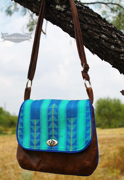 Free The Lilac Mini Messenger Pdf Sewing Pattern Blue