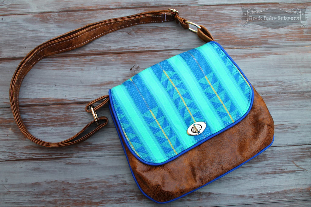FREE The Lilac Mini Messenger - PDF Sewing Pattern – Blue Calla ... : quilted messenger bag pattern - Adamdwight.com