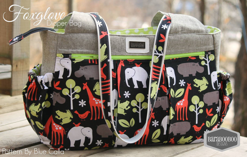 The Foxglove Bag - Fitness or Diaper bag