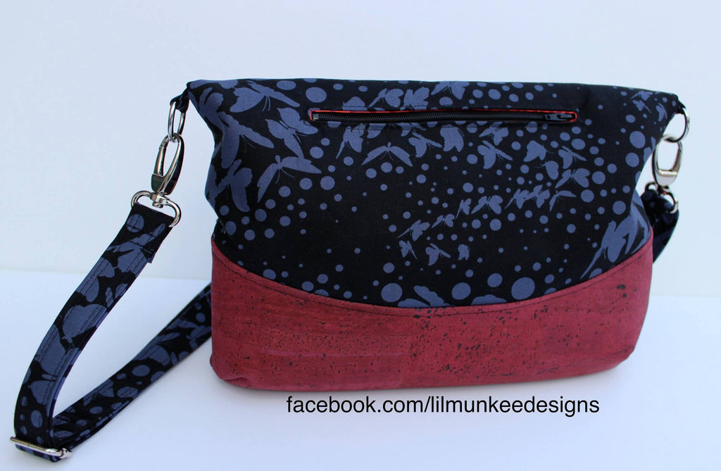 The Freesia Foldover Bag - PDF Sewing Pattern – Blue Calla Patterns