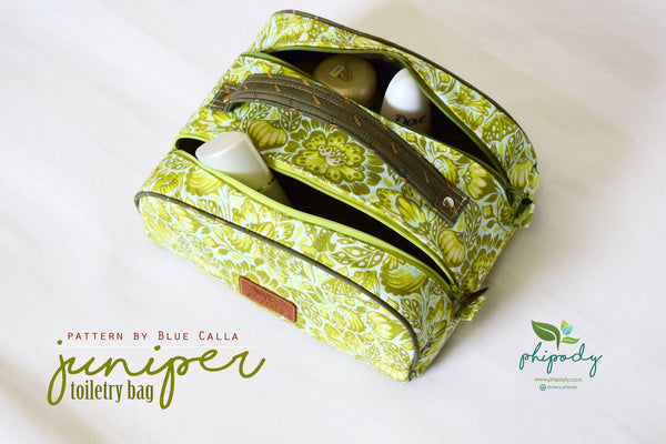 The Juniper Toiletry Bag - PDF Sewing Pattern